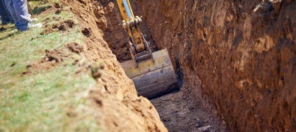 roboty ziemne przy budowie oczyszczalni